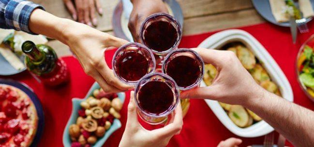 receitas para jantar brinde entre amigos